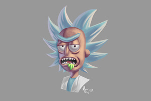 Rick Sanchez Artwork Wallpaper