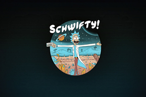 Rick Sanchez Schwifty Wallpaper