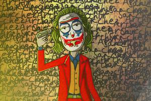 Rick X Joker Wallpaper