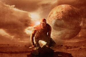 Riddick Vin Diesel 12k Wallpaper