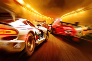 Ridge Racer Pitch Wallpaper