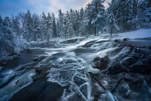 Ringerike Norway Water Flow 4k Wallpaper