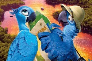 Rio 2 Blue Wallpaper