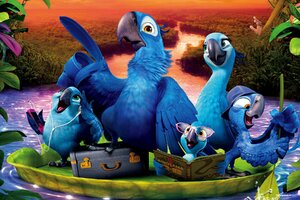 Rio 2 Movie Desktop
