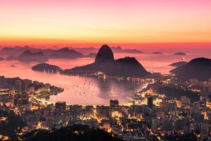 Rio De Janeiro Sunrise 4k Wallpaper