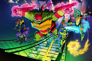 Rise Of The Teenage Mutant Ninja Turtles 2018 Wallpaper