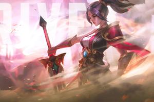 Riven League Of Legend Wallpaper