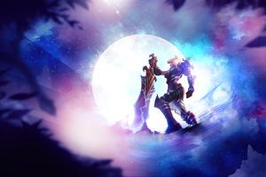Riven League Of Legends Art 4k