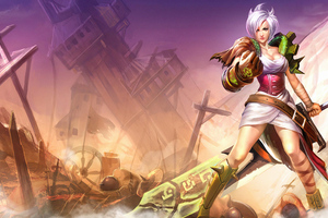Riven Lol 4k Wallpaper