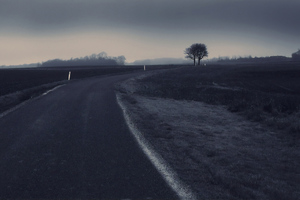 Road Dark Wallpaper