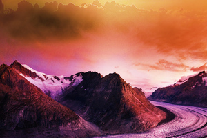 Road To Nature 5k Wallpaper