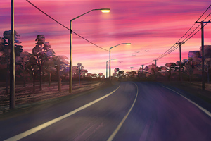 Roads Untravelled Wallpaper