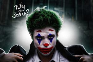 Robert Pattinson As Joker Wallpaper