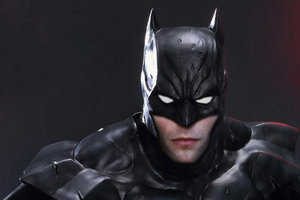 Robert Pattinson As The Batman 4k Wallpaper