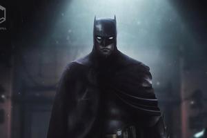 Robert Pattinson Batsuit Batman 4k
