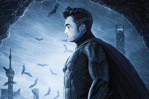 Robert Pattison 4k Batman Wallpaper