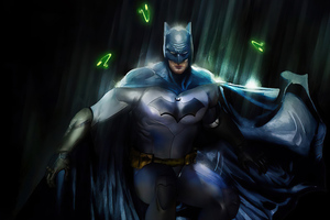 Robert Pattison Batman Art 4k