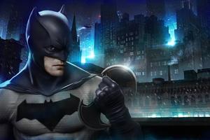 Robert Pattison New Batman Art