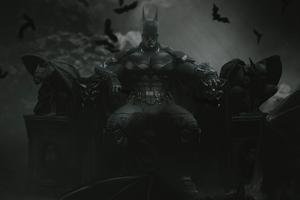 RobertPattinson Batman In Cave Wallpaper