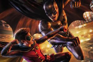 Robin Vs Batman Wallpaper