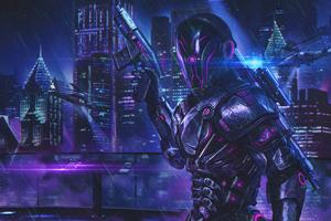 Robo Science Fiction 4k Wallpaper