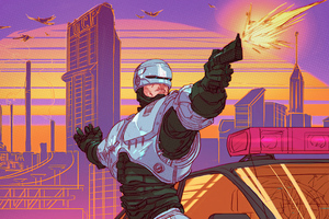 Robocop Gun 4k Wallpaper