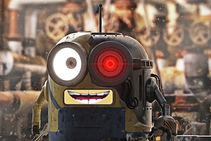 Robot Minion Wallpaper