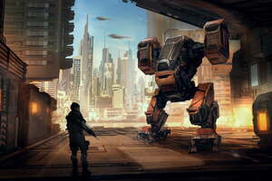 Robot Science Fiction Scifi Art