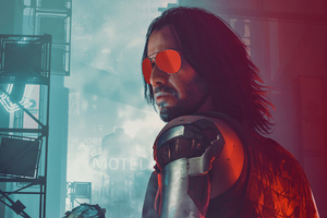 Rockerboy Johnny Cyberpunk 2077