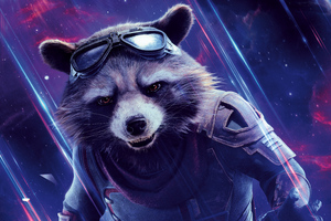 Rocket Avengers End Game 8k Wallpaper