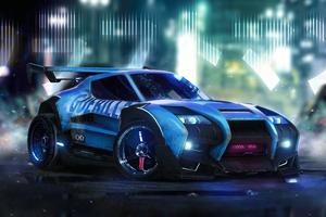 Rocket League Car Artwork