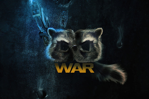 Rocket Raccoon Guardians Of The Galaxy Vol 3 Wallpaper