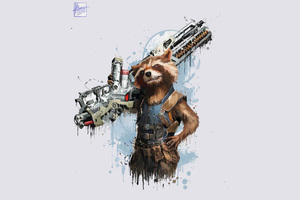 Rocket Raccoon In Avengers Infinity War 2018