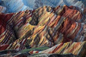 Rocks Landscape Vivid Mountains