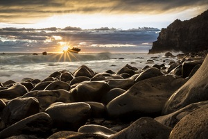 Rocks Sunrise