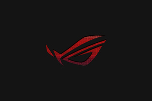 Rog Logo Art 4k Wallpaper