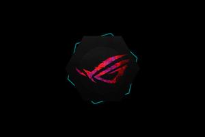 Rog Logo Minimal 4k