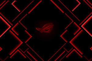 Rog Red Logo 4k Wallpaper