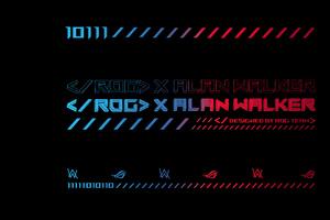 Rog X Alan Walker 5k Wallpaper