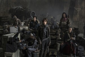 Rogue One Star Wars Story Cast Wallpaper