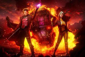 Rogue X Men Cosplays 5k Wallpaper