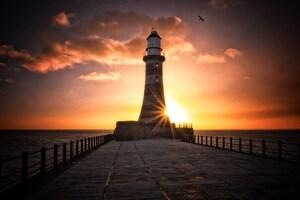 Roker Lighthouse Wallpaper