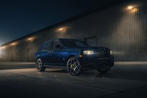 Rolls Royce Cullinan Black Badge For Ben And Christine Sloss 8k Wallpaper