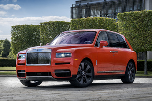 Rolls Royce Cullinan Fux Orange 2019 Wallpaper