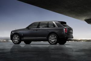 Rolls Royce Cullinan Rear 4k