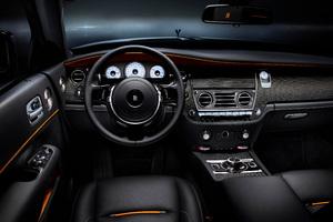 Rolls Royce Dawn Black Badge Interior 4k Wallpaper