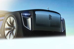 Rolls Royce Exterion Concept Front Bonnet Wallpaper