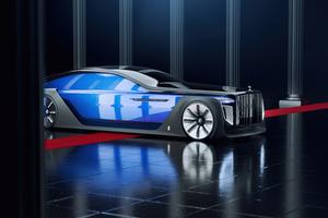 Rolls Royce Exterion Concept Front Wallpaper