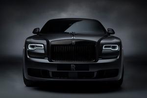 Rolls Royce Ghost Black Badge 2019 Front Wallpaper