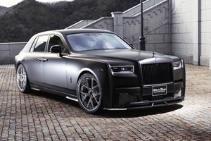 Rolls Royce Phantom Sports Line Black Bison Edition 2019 4k